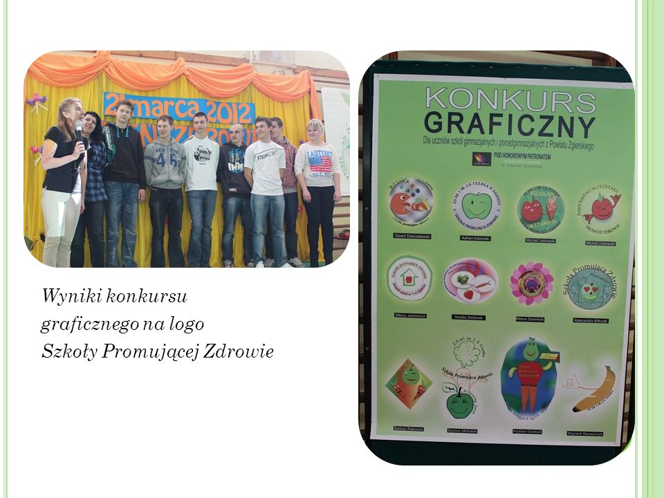 Wyniki konkursu graficznego na logo Szkoły Promującej Zdrowie
