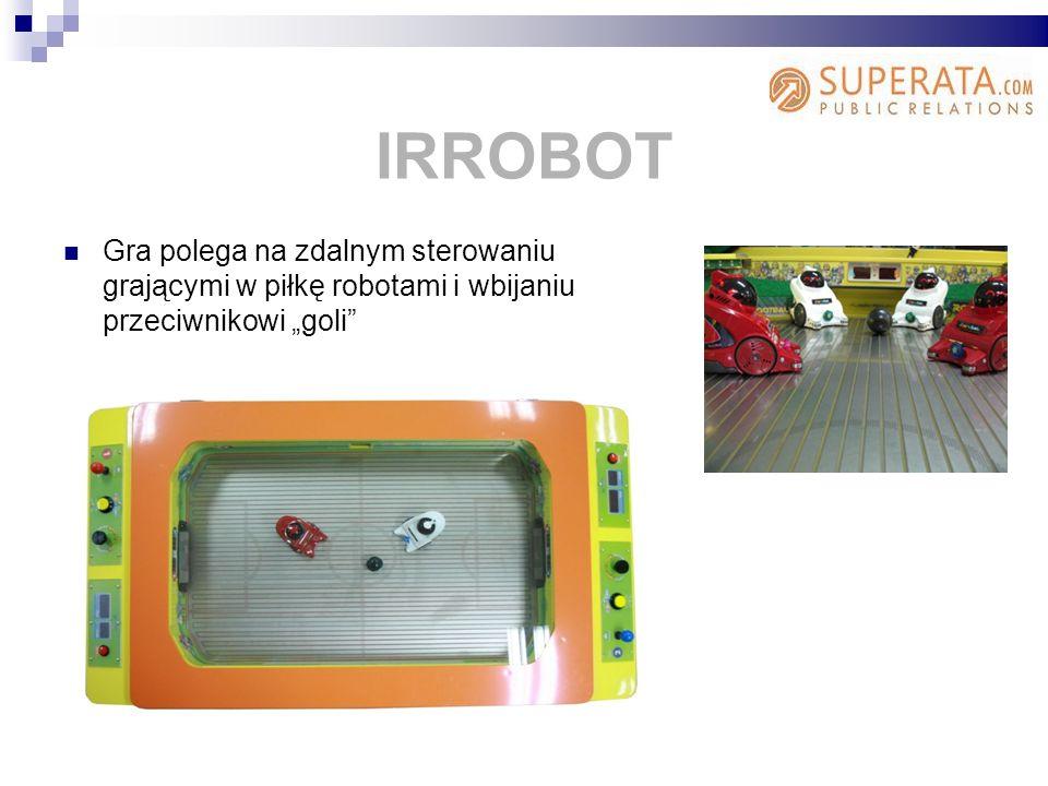 Gra polega na zdalnym sterowaniu grającymi w piłkę robotami i wbijaniu przeciwnikowi goli IRROBOT
