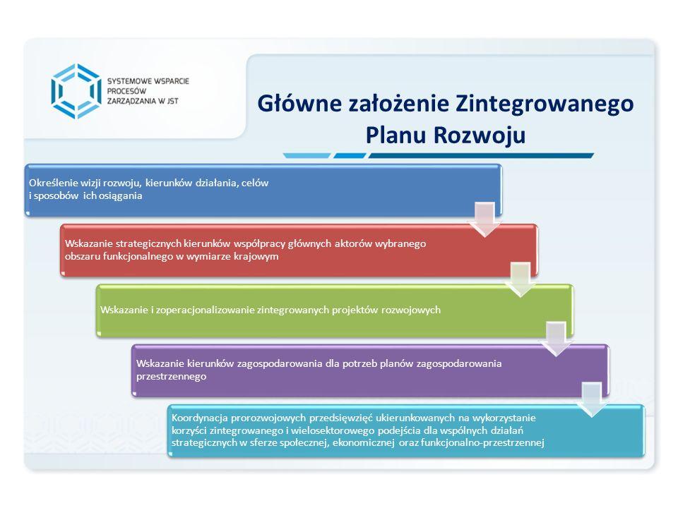 Określenie wizji rozwoju, kierunków działania, celów i sposobów ich osiągania Wskazanie strategicznych kierunków współpracy głównych aktorów wybranego