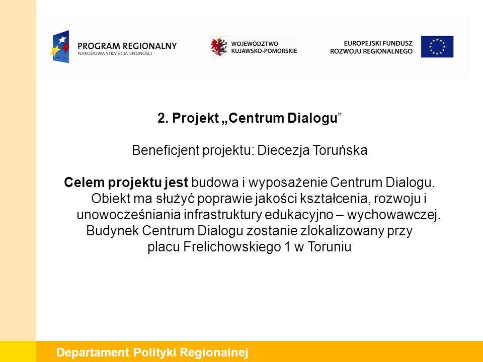 Departament Polityki Regionalnej 2.