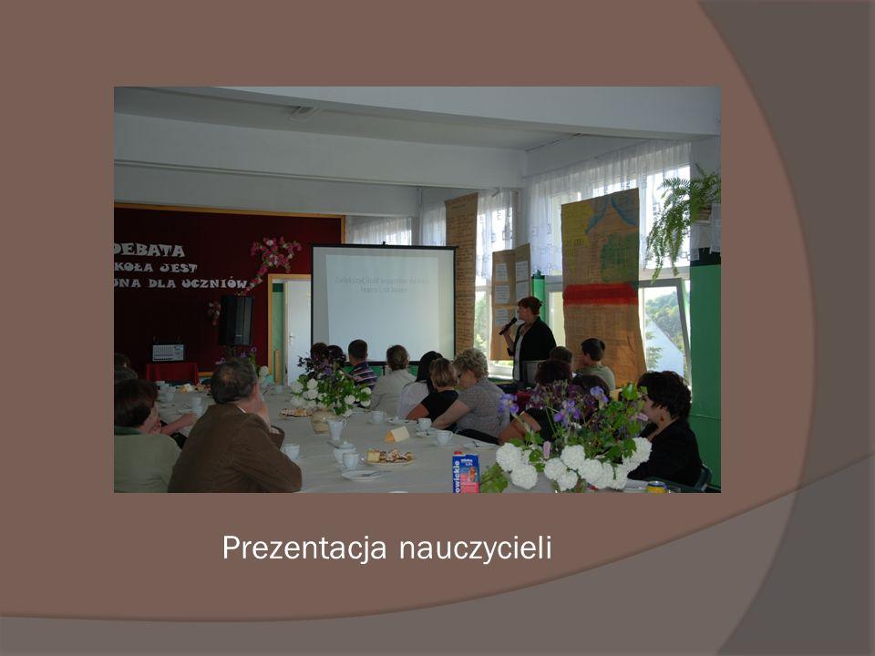 Prezentacja nauczycieli
