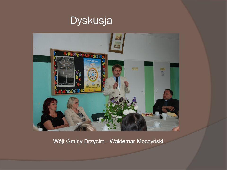Dyskusja Wójt Gminy Drzycim - Waldemar Moczyński