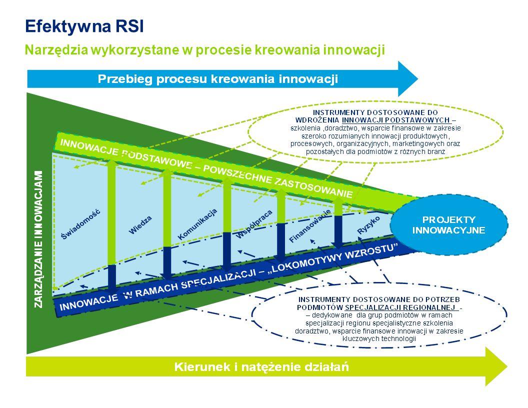Efektywna RSI Narzędzia wykorzystane w procesie kreowania innowacji