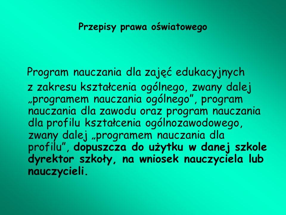 III.Procedury Sposoby osiągania celów kształcenia i wychowania.