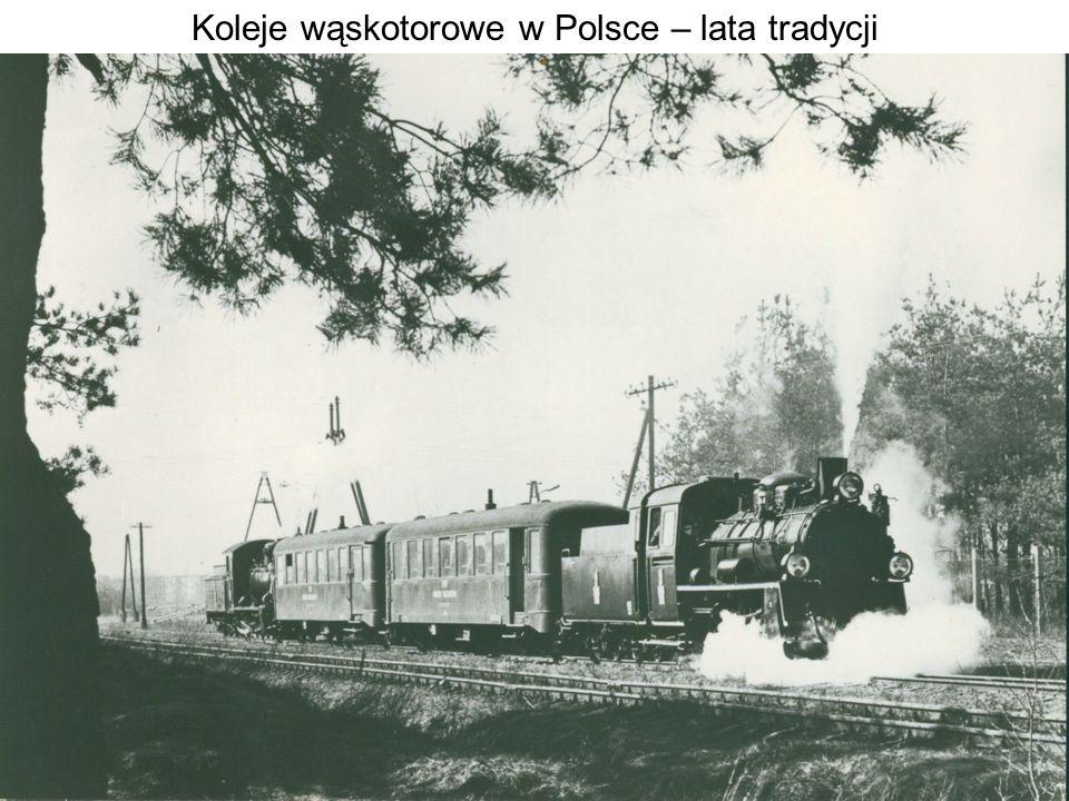 Koleje wąskotorowe w Polsce – lata tradycji
