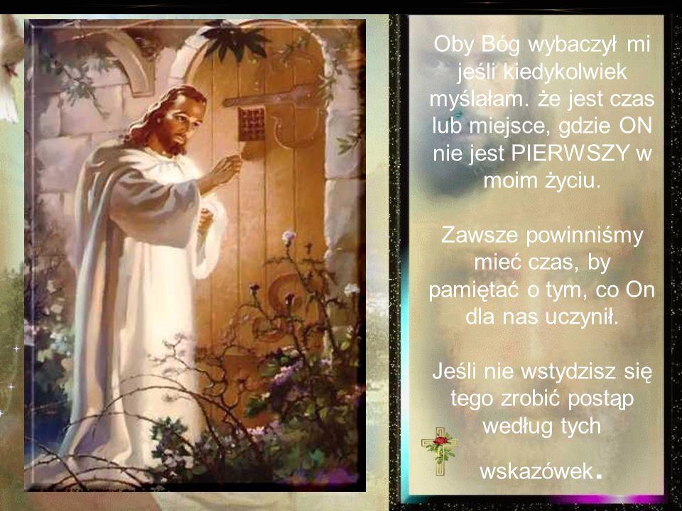 Staramy się trzymać Boga w kościele w niedzielny poranek. Może w niedzielę wieczorem. I podczas nielicznych, (jeśli w ogóle) śród-tygodniowych nabożeń