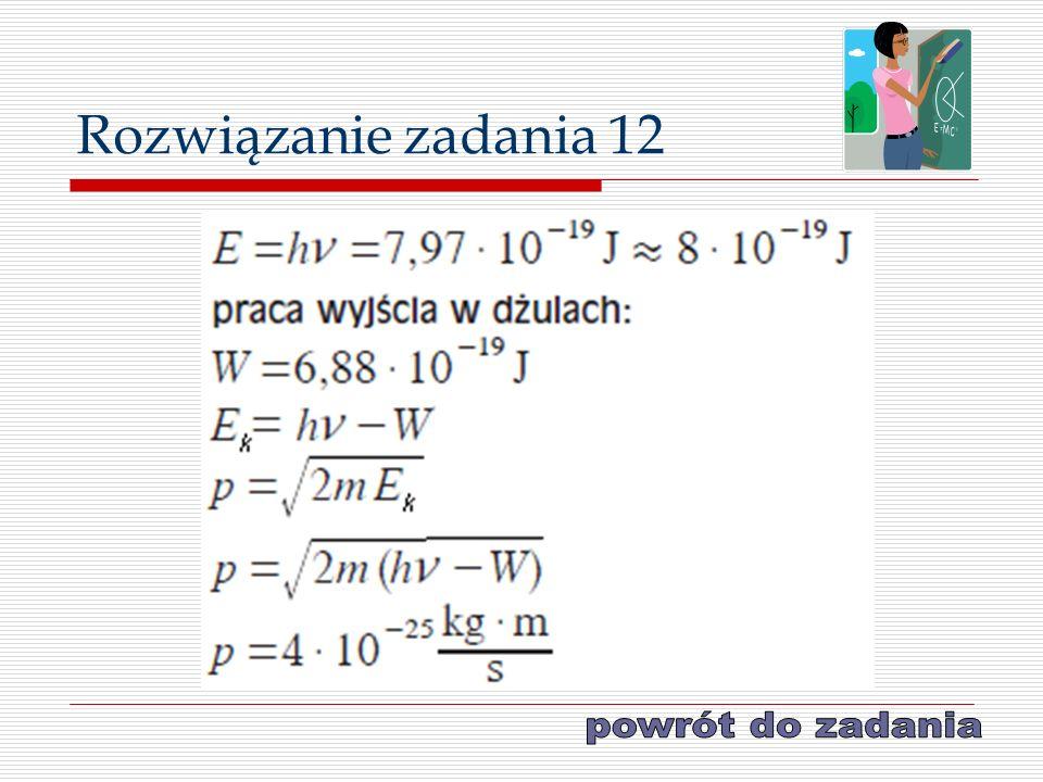 Rozwiązanie zadania 12
