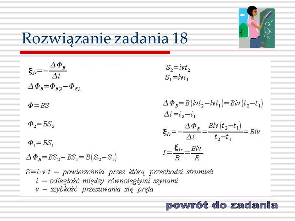 Rozwiązanie zadania 18