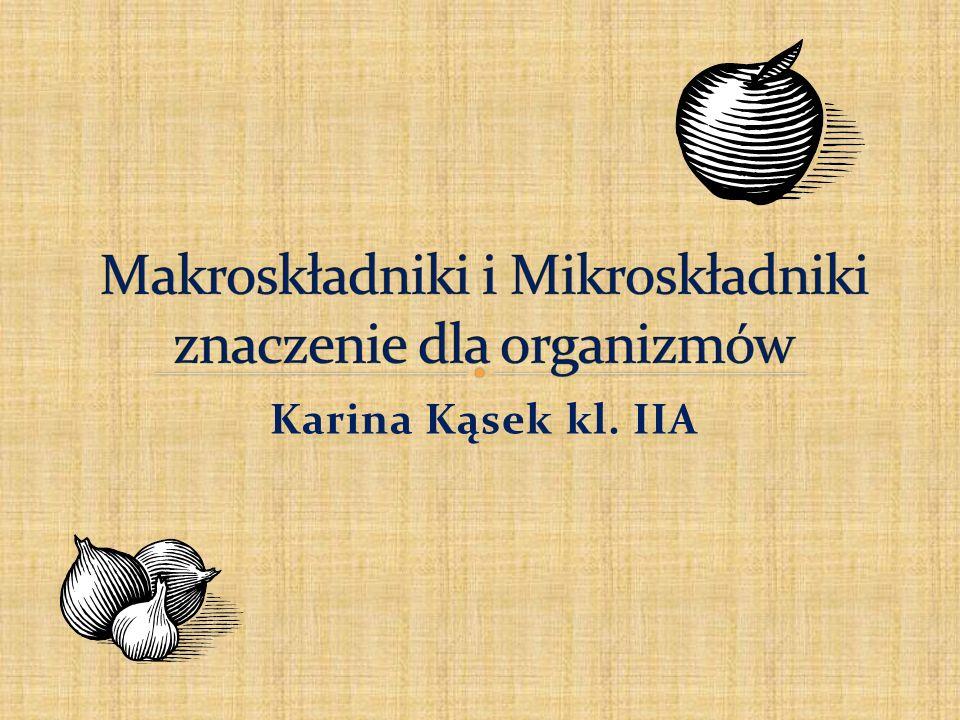 Karina Kąsek kl. IIA