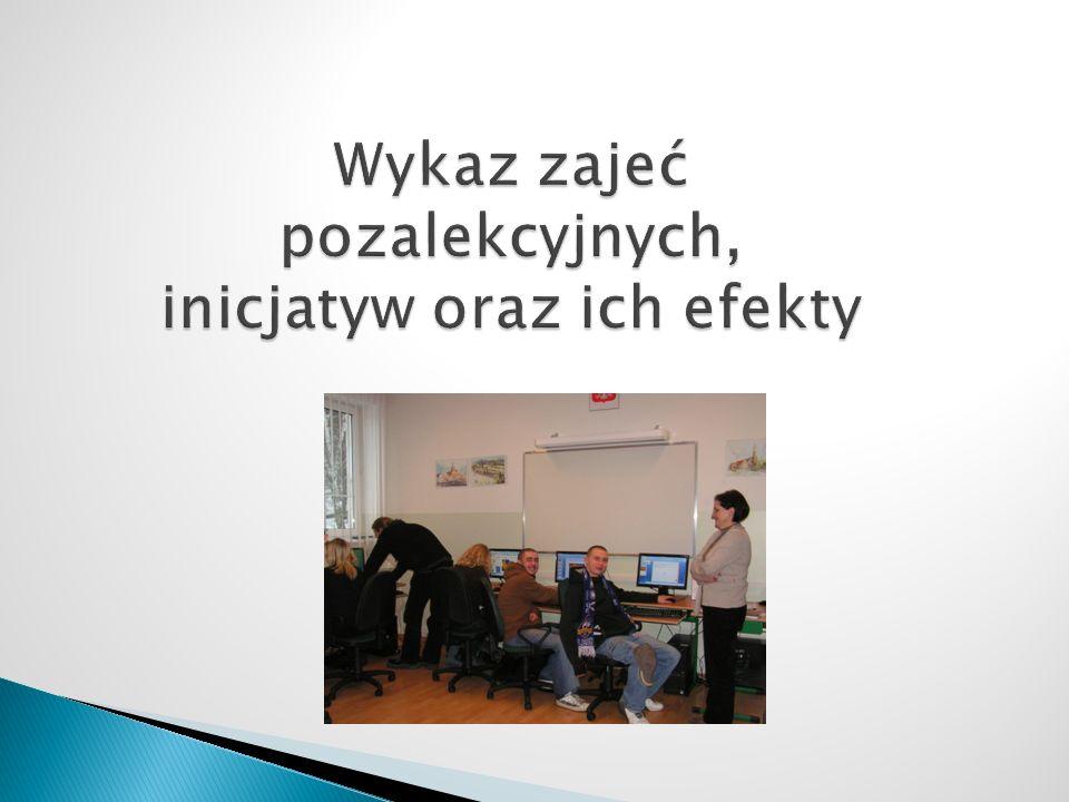 Udostępniano szkolne komputery na potrzeby Okręgowej Komisji Wyborczej w Gdyni a nauczyciele KM CKU pracowali na rzecz środowiska lokalnego jako członkowie komisji i jako operatorzy informatycznej obsługi OKW.