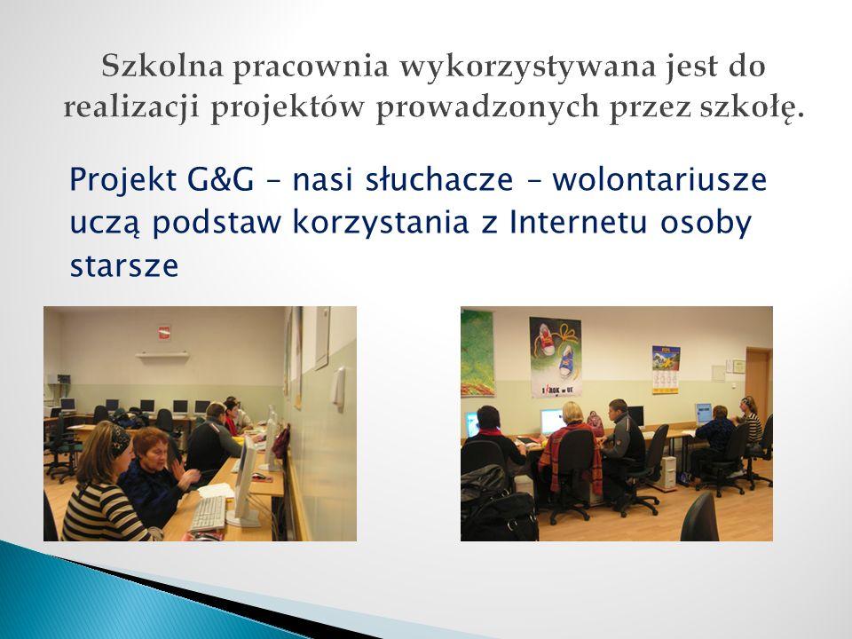 Multimedialne Centrum Informacji znajdujące się w bibliotece jest dostępne dla słuchaczy codziennie od godz.