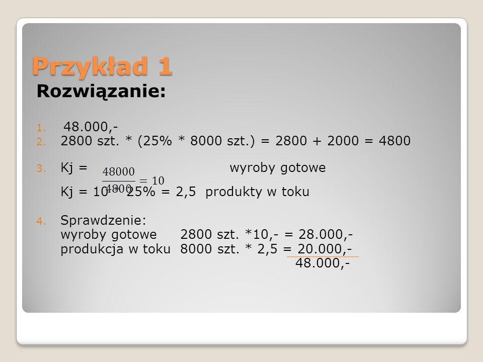 Ewidencja wyników kalkulacji podziałowej prostej Koszty działalności podstawowej Rozliczenie kosztów działalności Wyroby gotowe Odchylenie od cen ewidencyjnych wyrobów gotowych lub 2 1 3a 3b