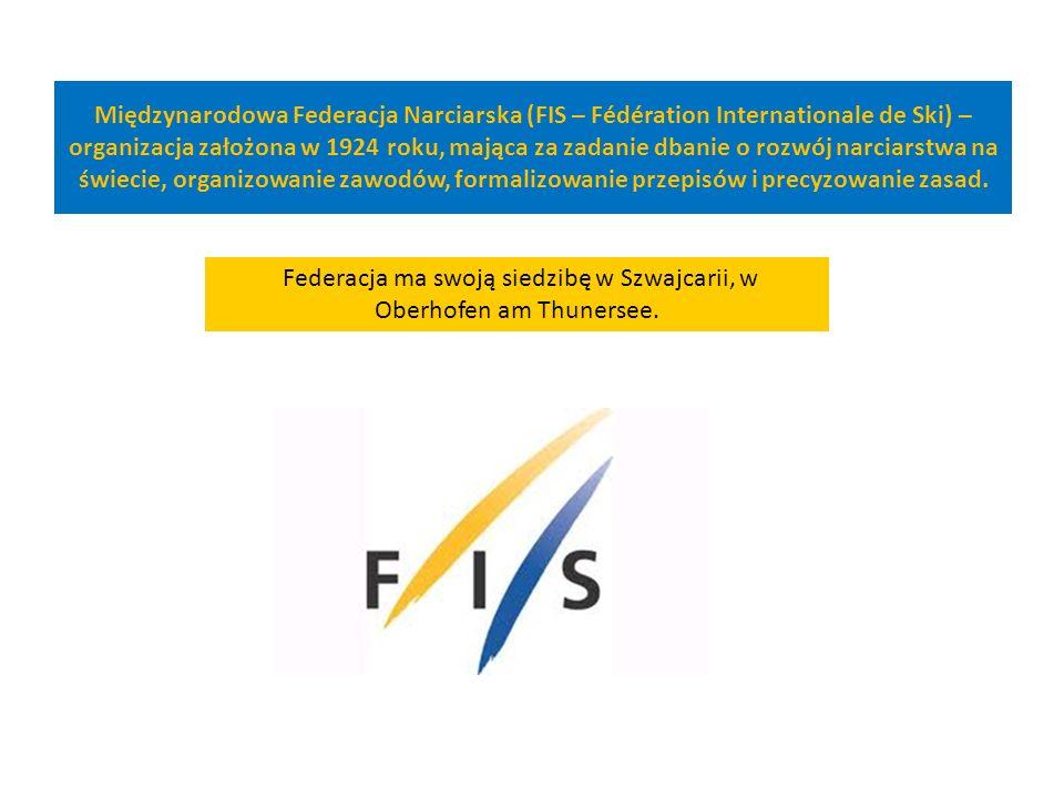 Międzynarodowa Federacja Narciarska (FIS – Fédération Internationale de Ski) – organizacja założona w 1924 roku, mająca za zadanie dbanie o rozwój nar