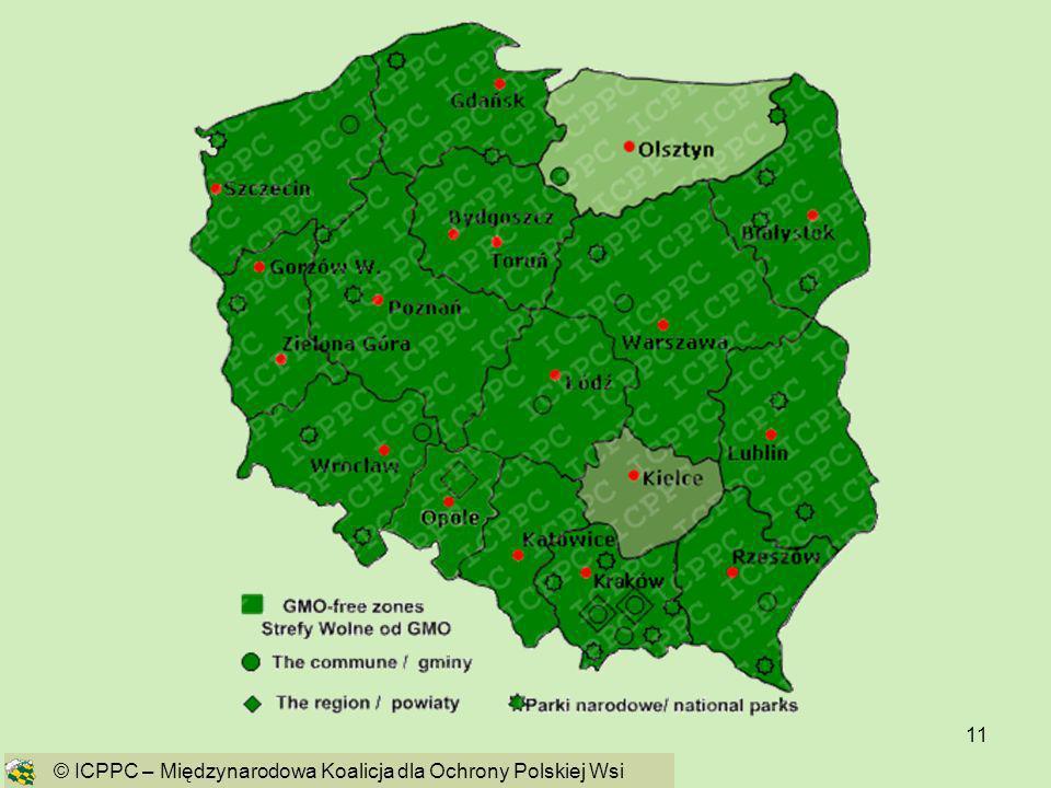 11 © ICPPC – Międzynarodowa Koalicja dla Ochrony Polskiej Wsi