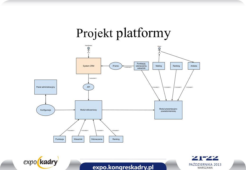 Projekt platformy