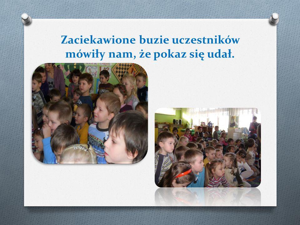Dzieci chętnie brały udział w pokazie