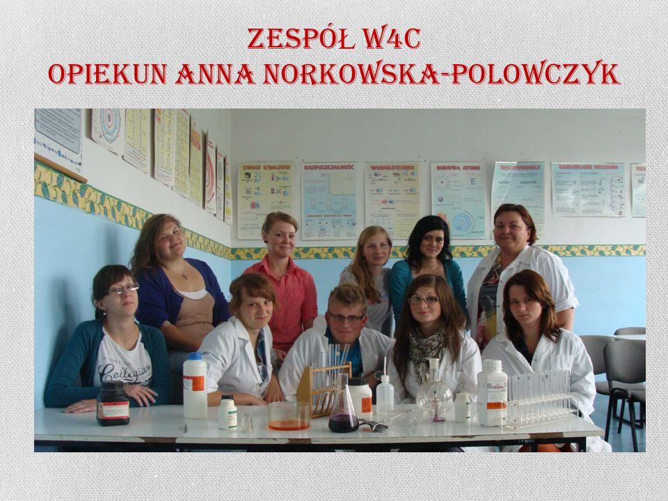 ZESPÓ Ł w4c OPIEKUN ANNA NORKOWSKA-POLOWCZYK