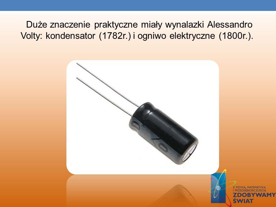 ROZWÓJ ELEKTRYCZNOŚCI W XVI w. William Gilbert wprowadził pojęcie sił elektrycznych. W 1729 r. angielski badacz Stephen Gray podzielił ciała na izolat