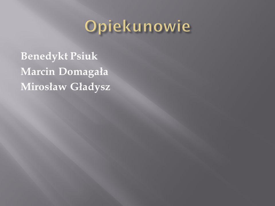 Benedykt Psiuk Marcin Domagała Mirosław Gładysz