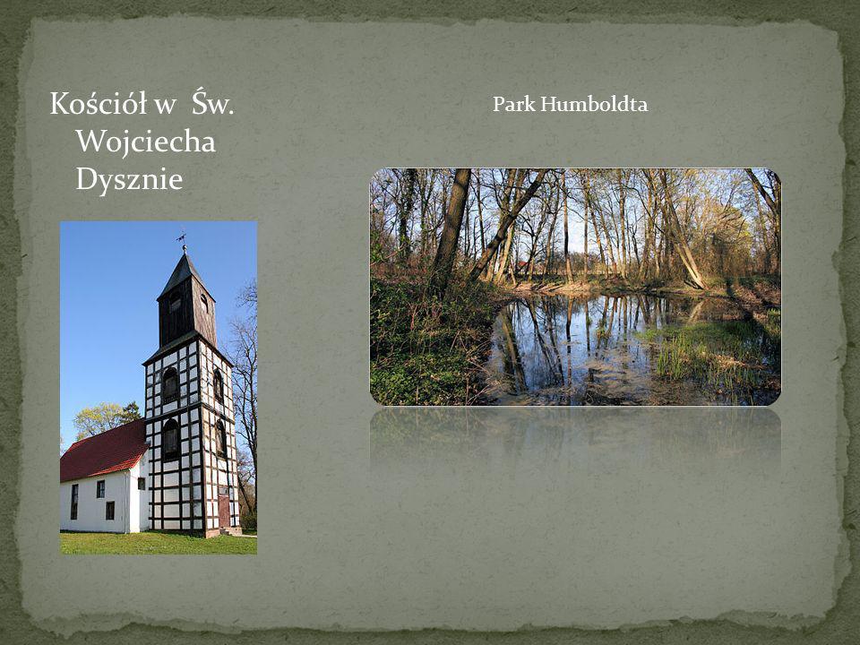 Kościół w Św. Wojciecha Dysznie Park Humboldta