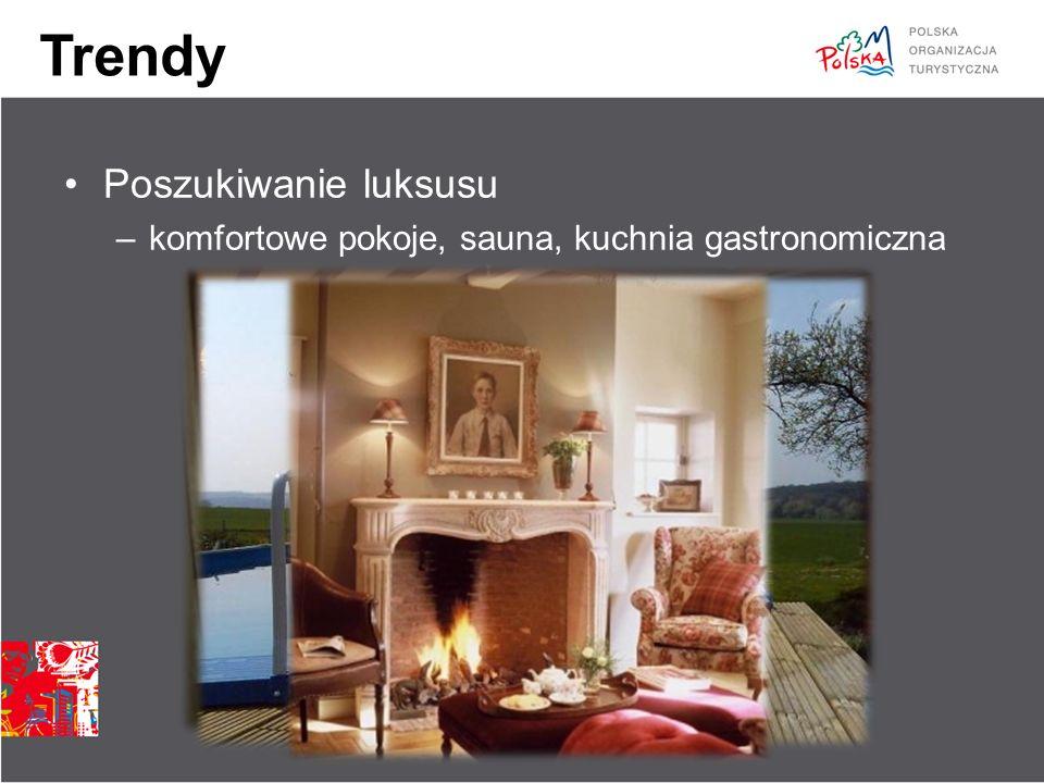 Trendy Poszukiwanie luksusu –komfortowe pokoje, sauna, kuchnia gastronomiczna