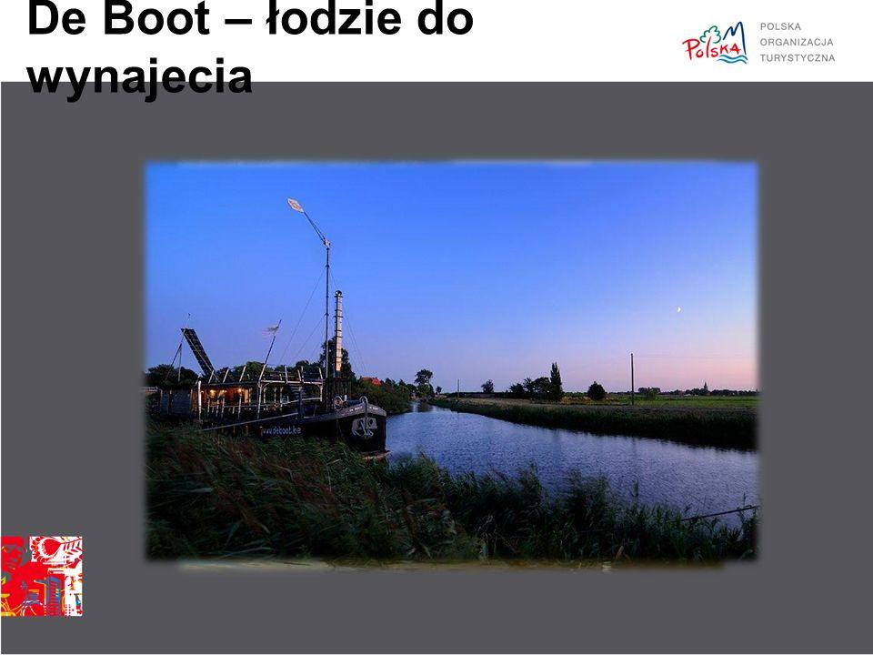 De Boot – łodzie do wynajecia