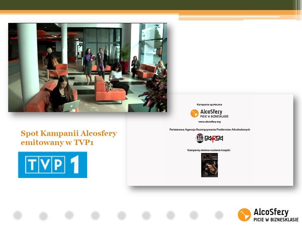 Spot Kampanii Alcosfery emitowany w TVP1