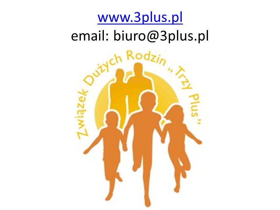 www.3plus.pl www.3plus.pl email: biuro@3plus.pl