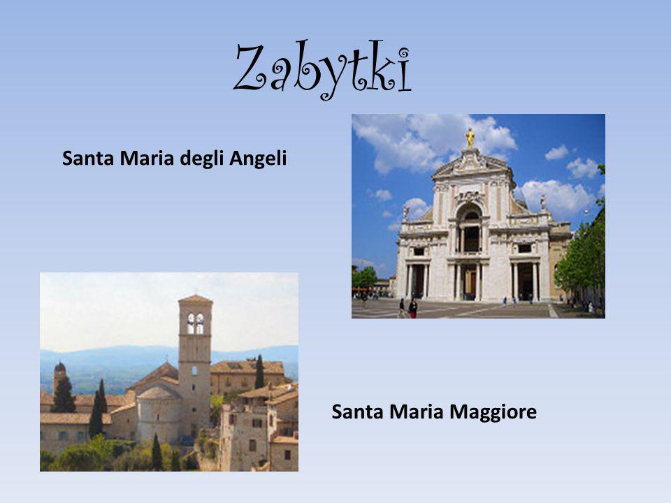 Santa Maria degli Angeli Zabytki Santa Maria Maggiore