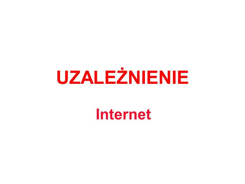 Definicja Uzależnienie od Internetu to nowe zjawisko, charakterystyczne dla XX a nawet XXI wieku.