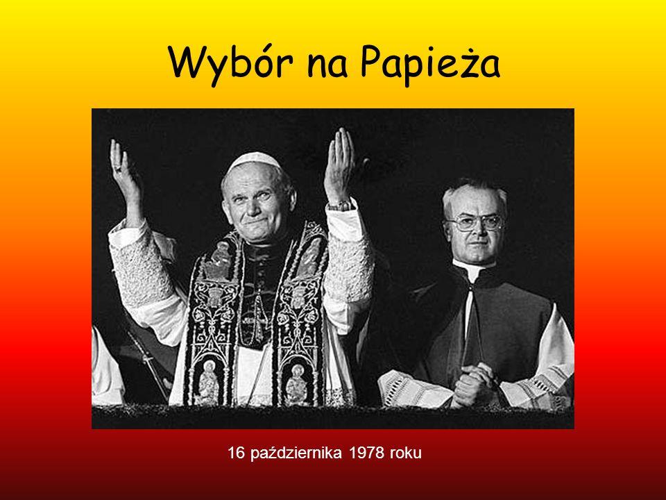 Wybór na Papieża 16 października 1978 roku