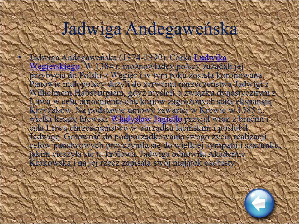Ludwik Węgierski Ludwik Węgierski (1326-1386). Król Węgier, nazywany w tym kraju Wielkim. Był synem siostry Kazimierza Wielkiego, Elżbiety. Królem Pol