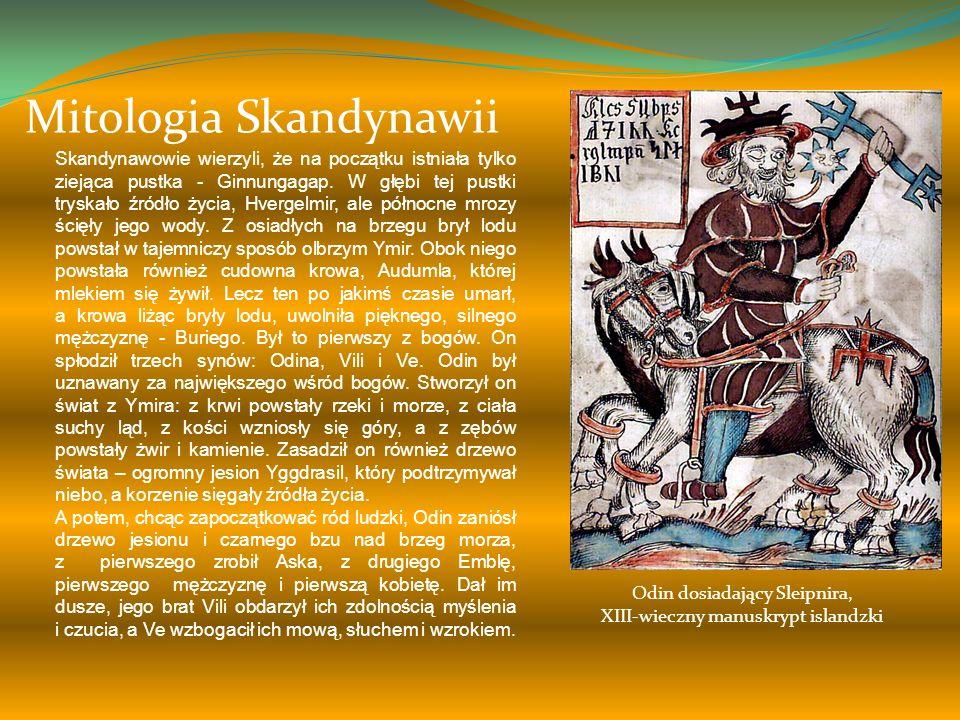 Mitologia Słowian Kiedy Swaróg obudził się, spostrzegł, że ląd się powiększył. Weles z radością przekazał mu wiadomość o tym, że świat stale się powię