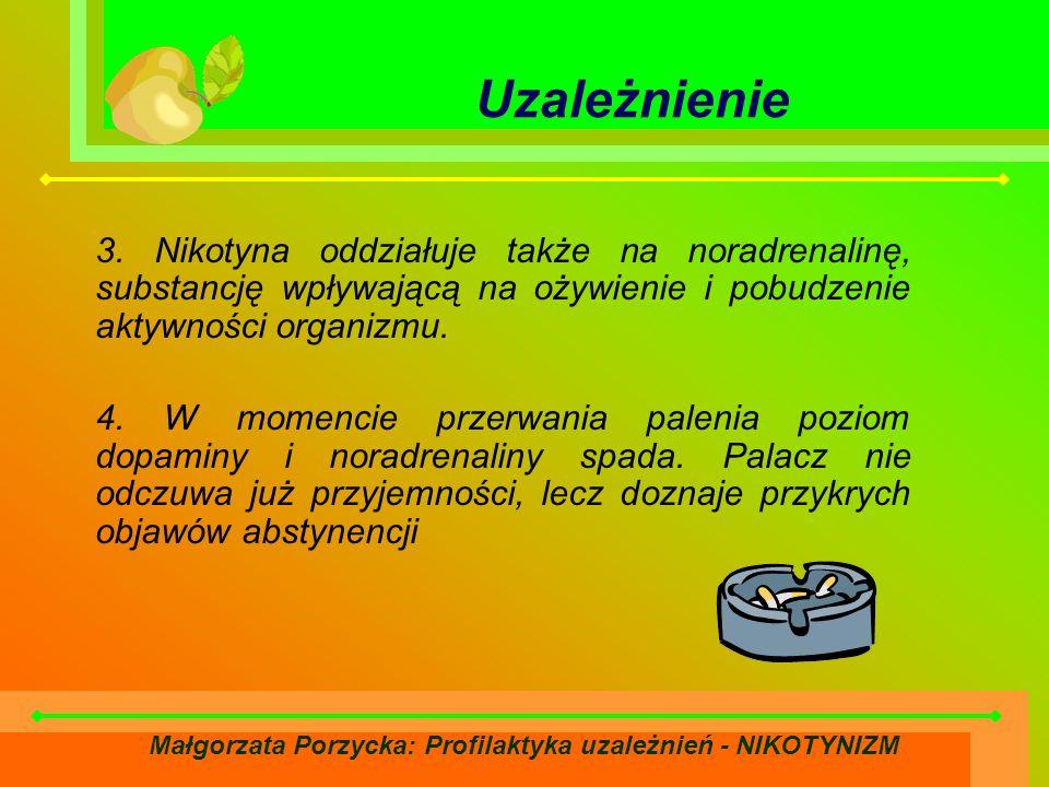 Małgorzata Porzycka: Profilaktyka uzależnień - NIKOTYNIZM Uzależnienie 3.