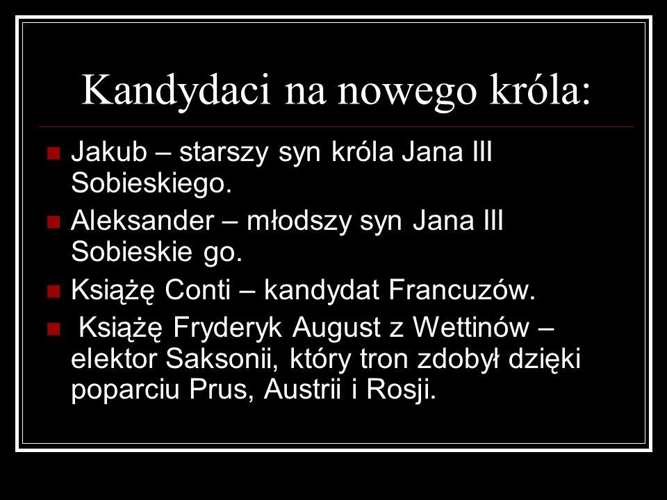 Fryderyk August-król Rzeczypospolitej.1697 r.