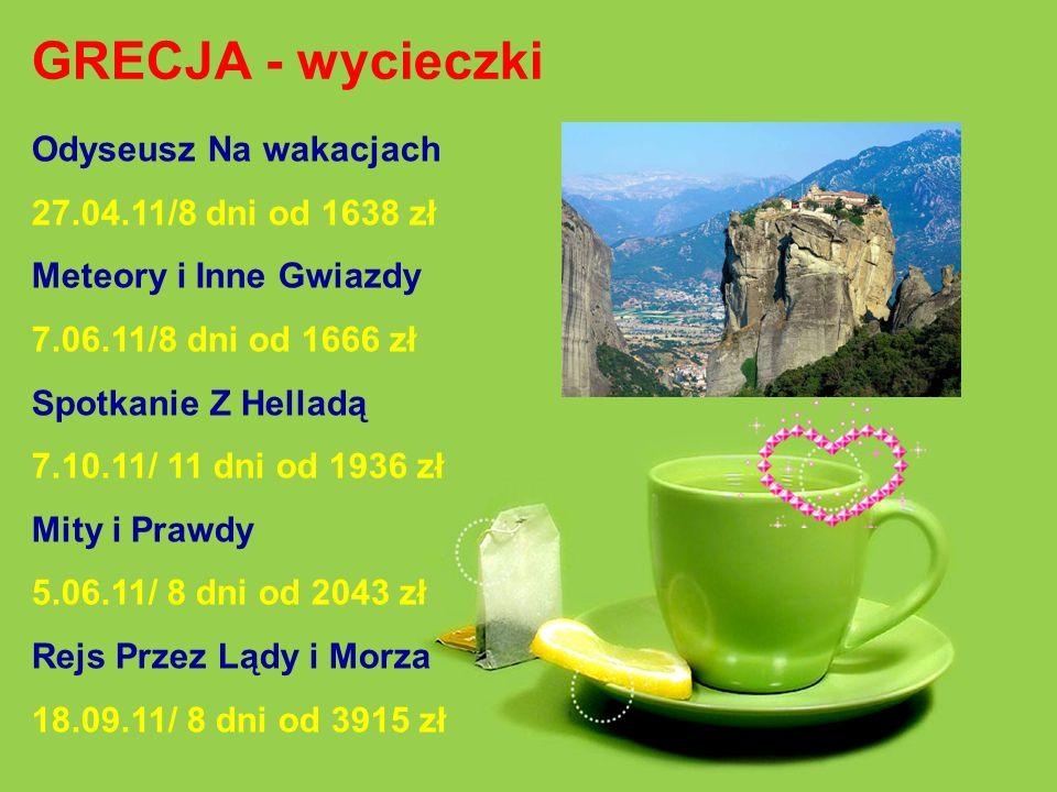 LITWA - wycieczki Szlak Bursztynowy 19.09.11/ 8 dni od 1517 zł Perły Północy 1.05.11/ 7 dni od 2131 zł