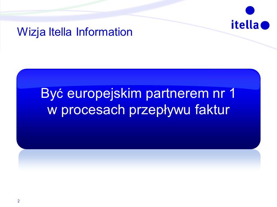 Wizja Itella Information By ć europejskim partnerem nr 1 w procesach przepływu faktur 2