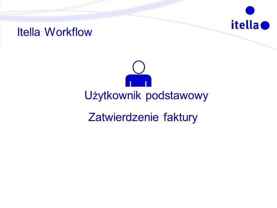 Itella Workflow U ż ytkownik podstawowy Zatwierdzenie faktury