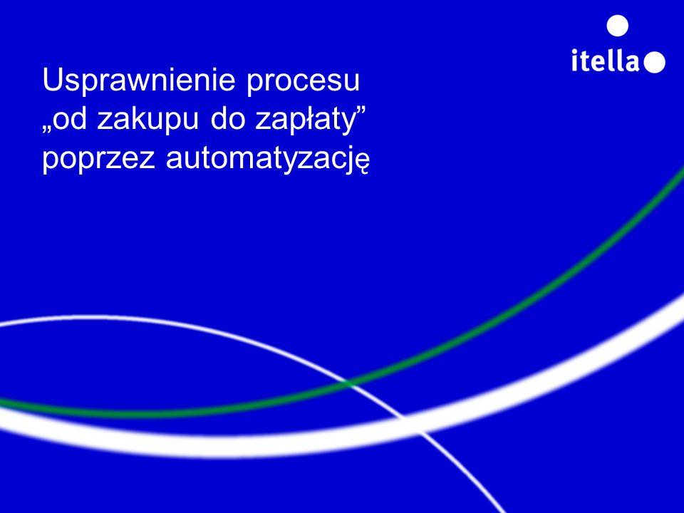 Usprawnienie procesu od zakupu do zapłaty poprzez automatyzacj ę
