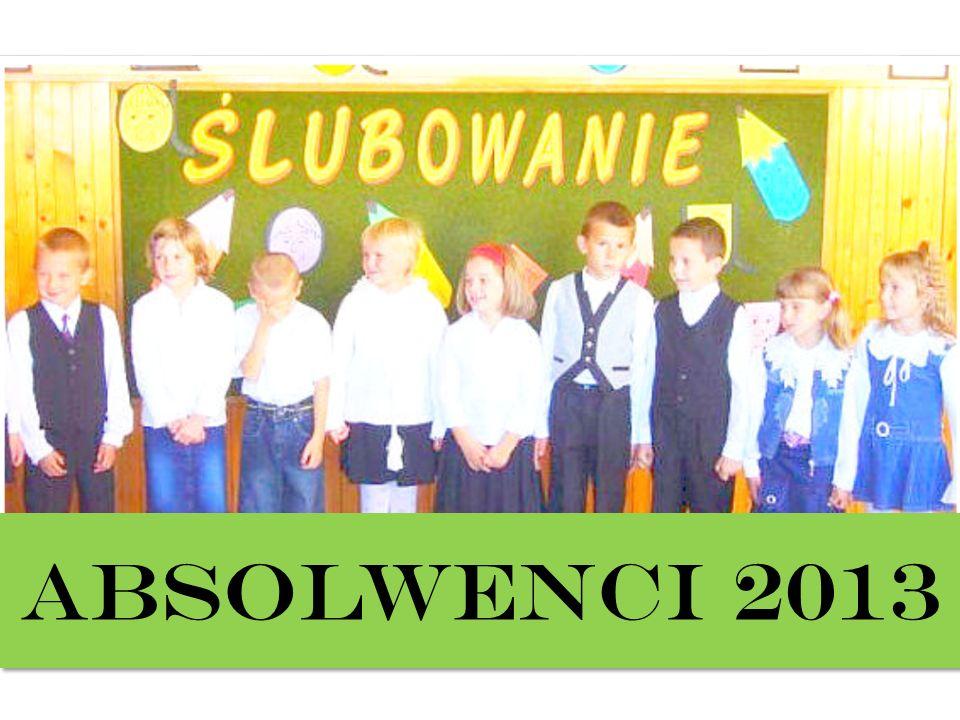 ABSOLWENCI 2013
