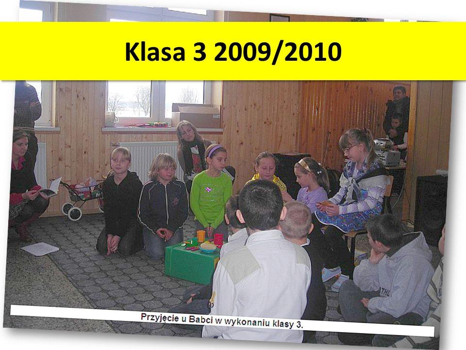 Klasa 3 2009/2010