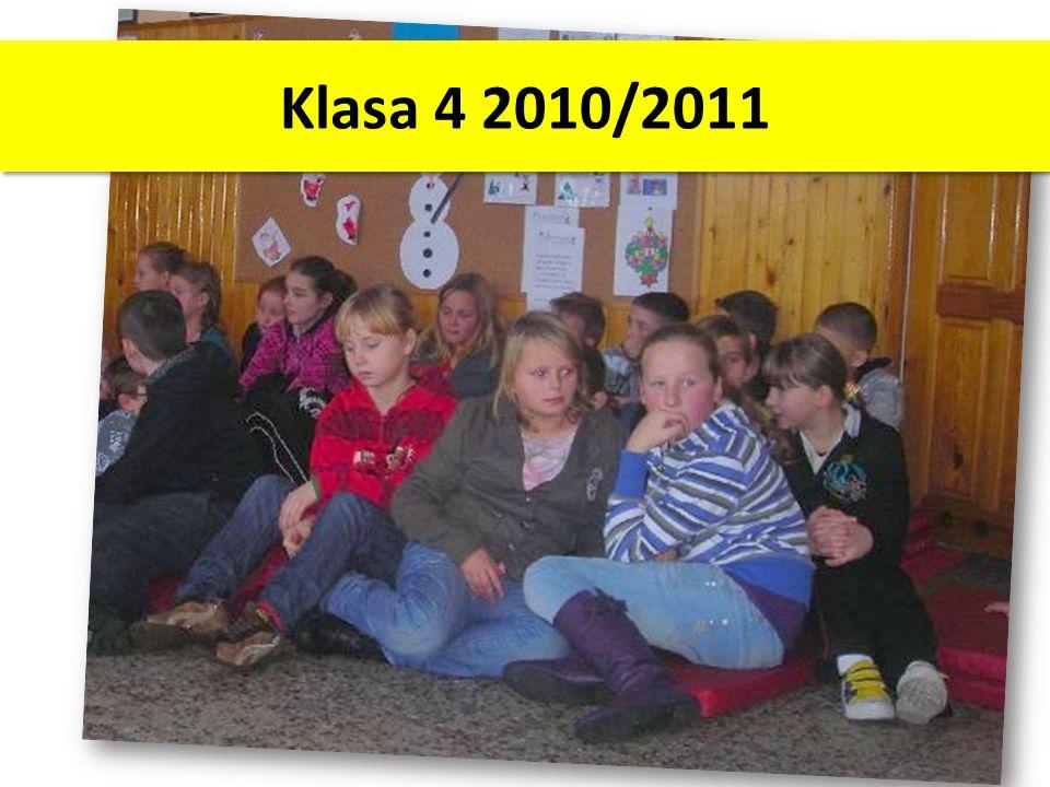 Klasa 4 2010/2011