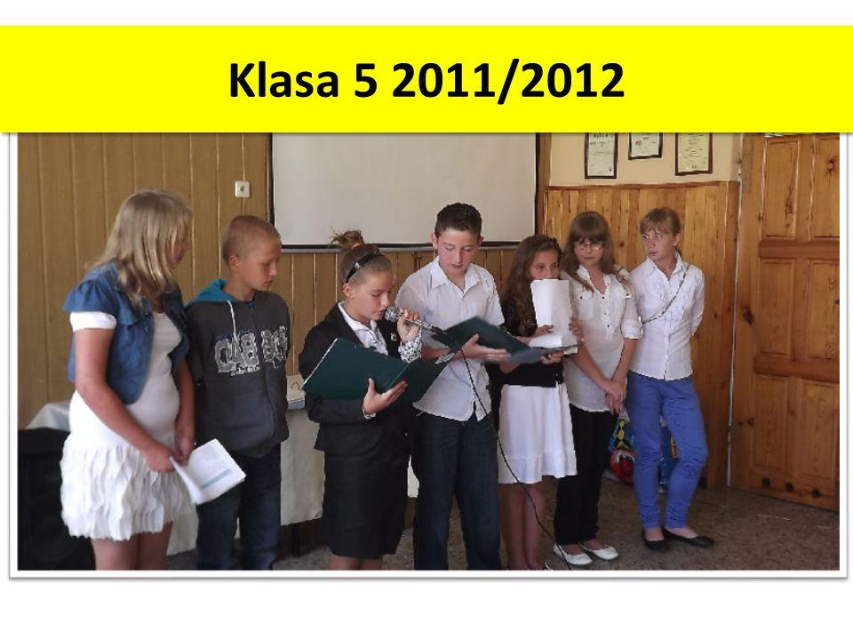 Klasa 5 2011/2012