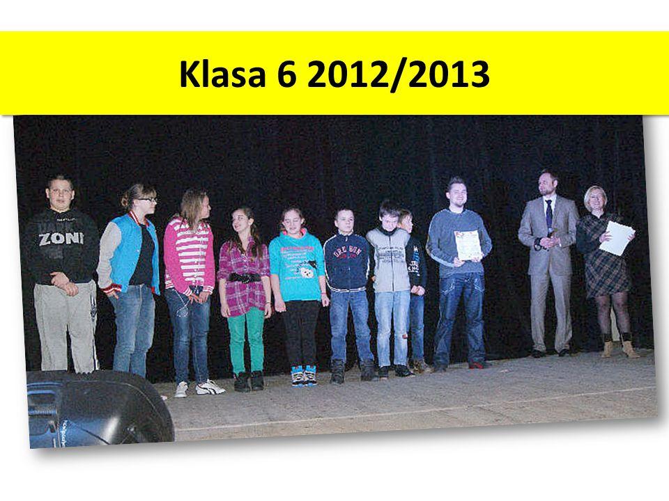 Klasa 6 2012/2013