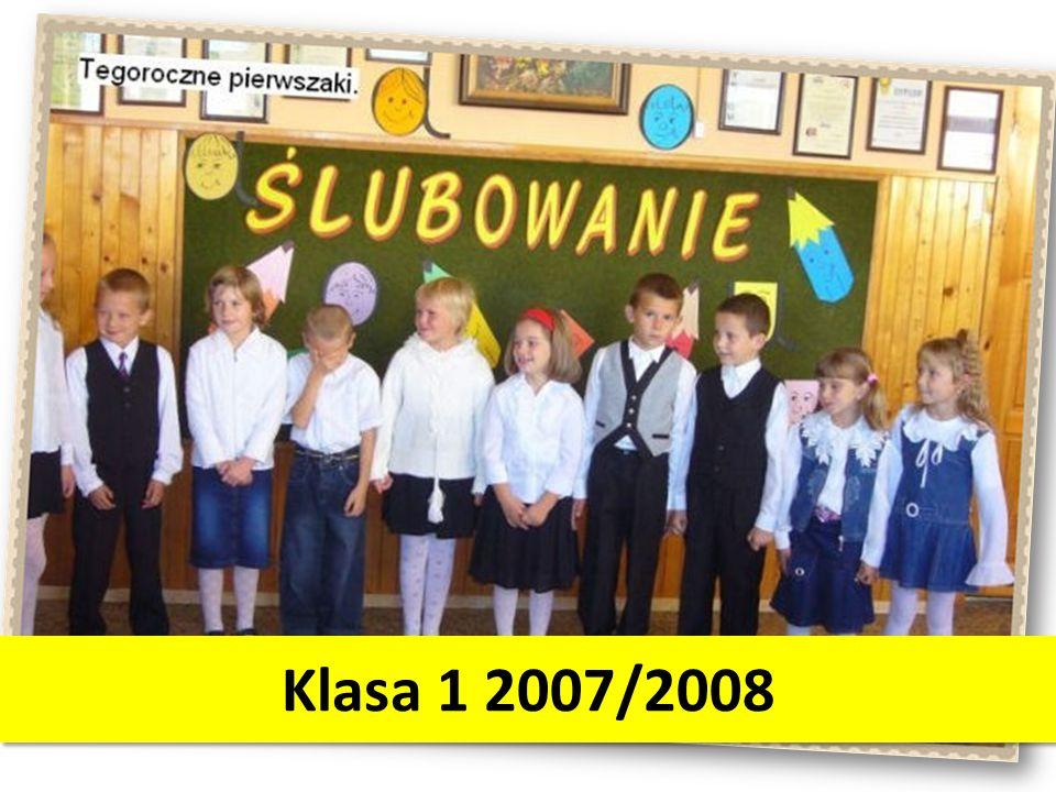 Klasa 1 2007/2008
