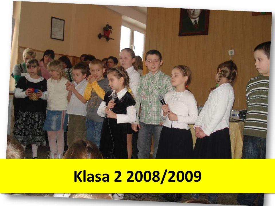 Klasa 2 2008/2009