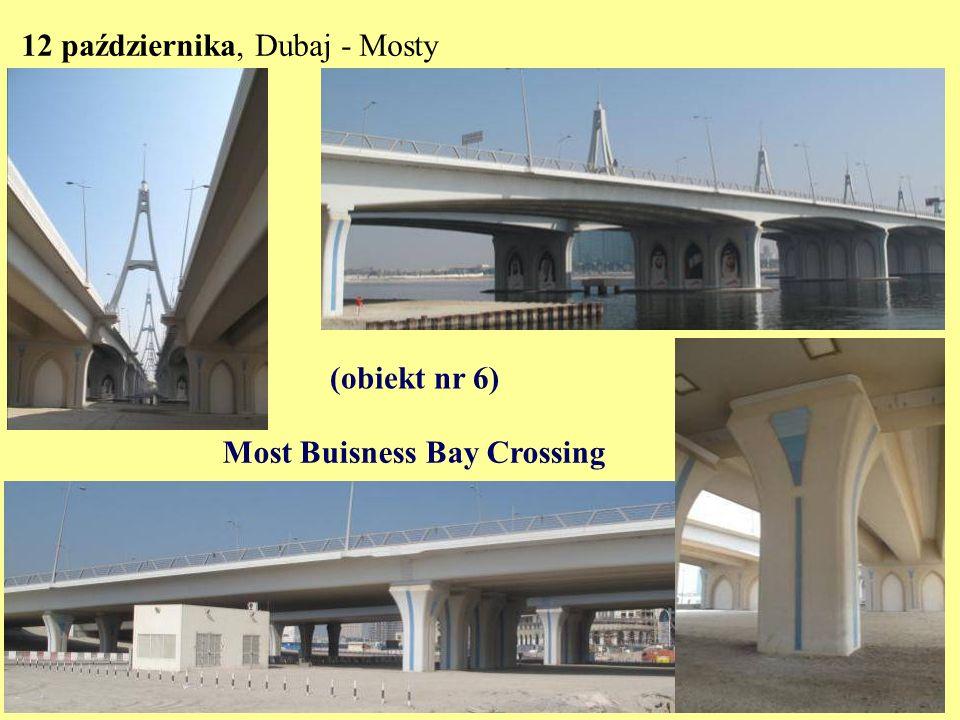 12 października, Mosty Most Al Garhoud (Garuda) (obiekt nr 7)