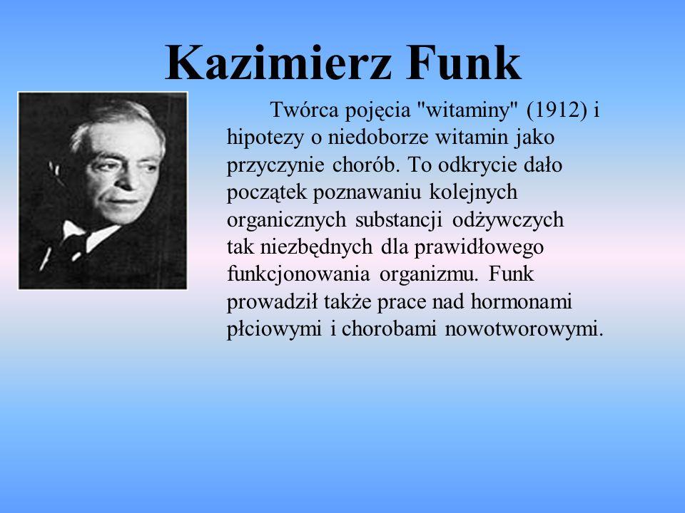 Kazimierz Funk Twórca pojęcia
