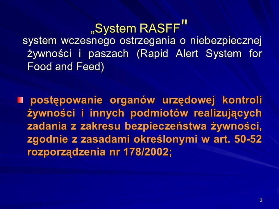 3 System RASFF