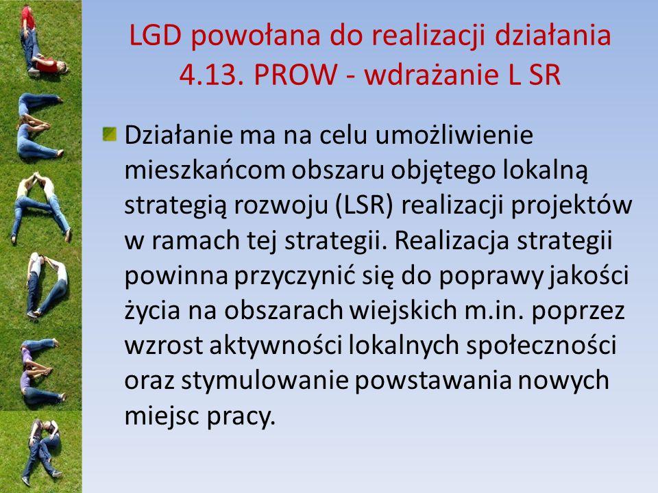 Dziękuję za uwagę Zachęcam do odwiedzenia stron www: www.lgdkrajna.pl www.minrol.gov.pl
